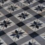reclaimed encaustic cement tile in Greece