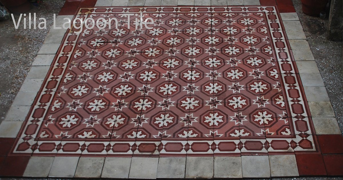 Hidden Treasures — Old Cement Tile Floors