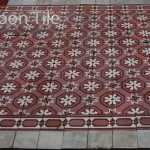 reclaimed salvage old greek cement tiles