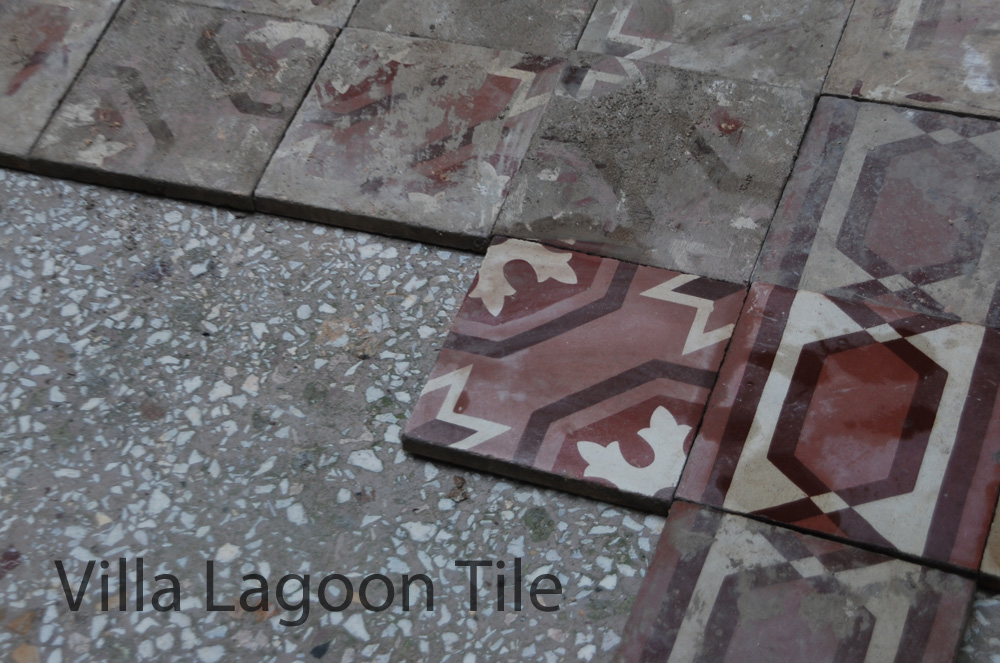 Hidden Treasures Old Cement Tile Floors Cement Style - How to clean cement tile floors