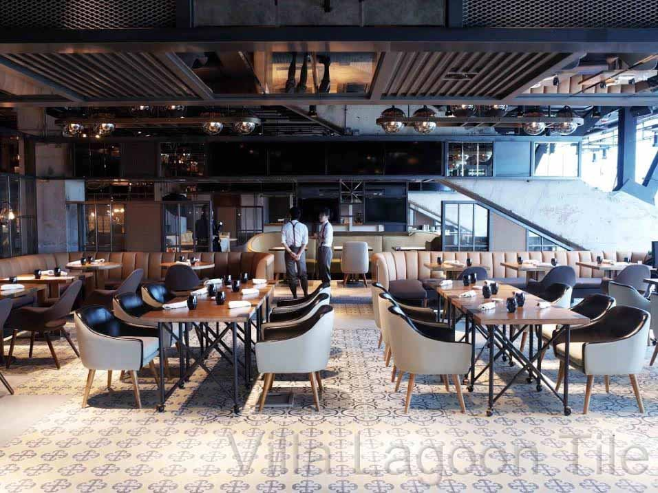 And They're Off! Villa Lagoon Tile at Hong Kong Jockey Club
