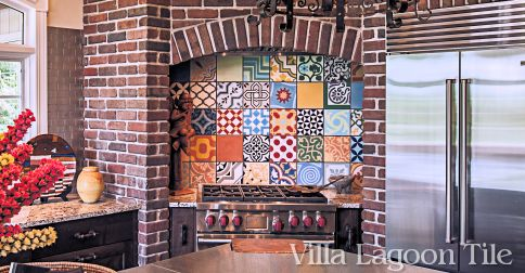 Patchwork Tile–The Perfect Mix for a Showhome