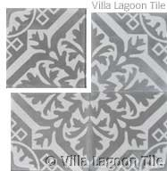 Nuevo Castillo cement tile from Villa Lagoon Tile