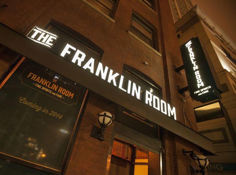 The Franklin Room Chicago Entrance