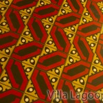 Villa Lagoon Tile custom cement tile at Fairmont Copley Hotel Oak Long Bar