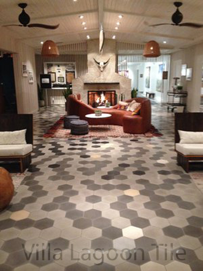Relax with Cement Tile in Santa Barbara