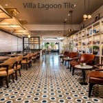 Corsair restaurant turnberry miami florida cement tile floor