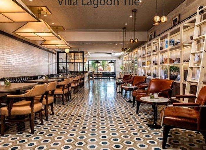 "Turnberry Resort Chooses Villa Lagoon Tile's Hexagonal ""Halo"" Cement Tile"