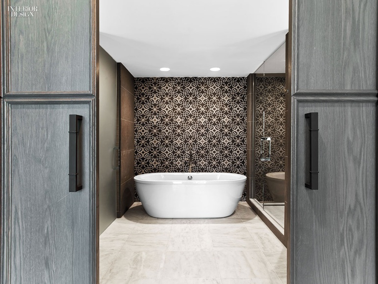 Cement Tile At The Hotel Van Zandt