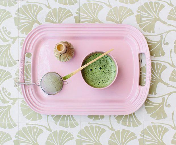 Mossy Fan Vine & Tea–Perfect Match