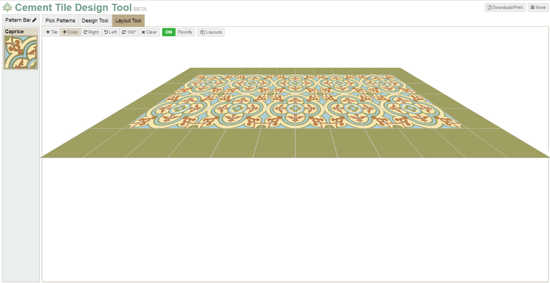 Tile design tool tile design ideas for Tile layout tool