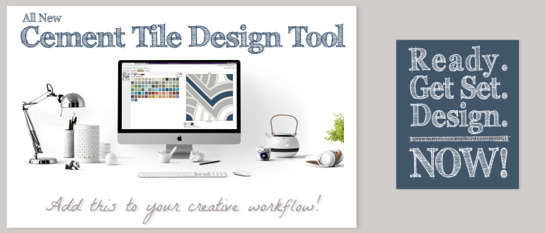 All new cement tile design tool. Add this to your creative workflow!