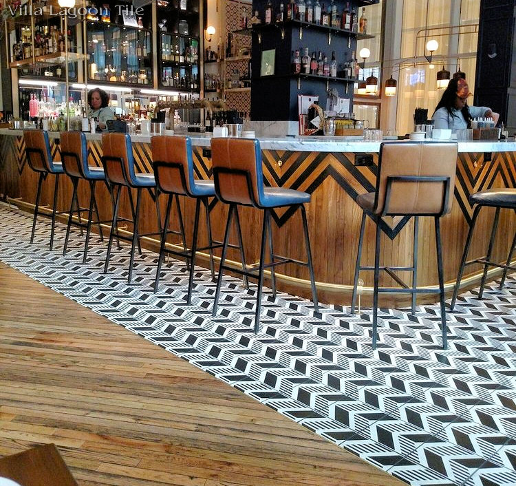 Cement Tile Roundup Restaurant Design Cement Style