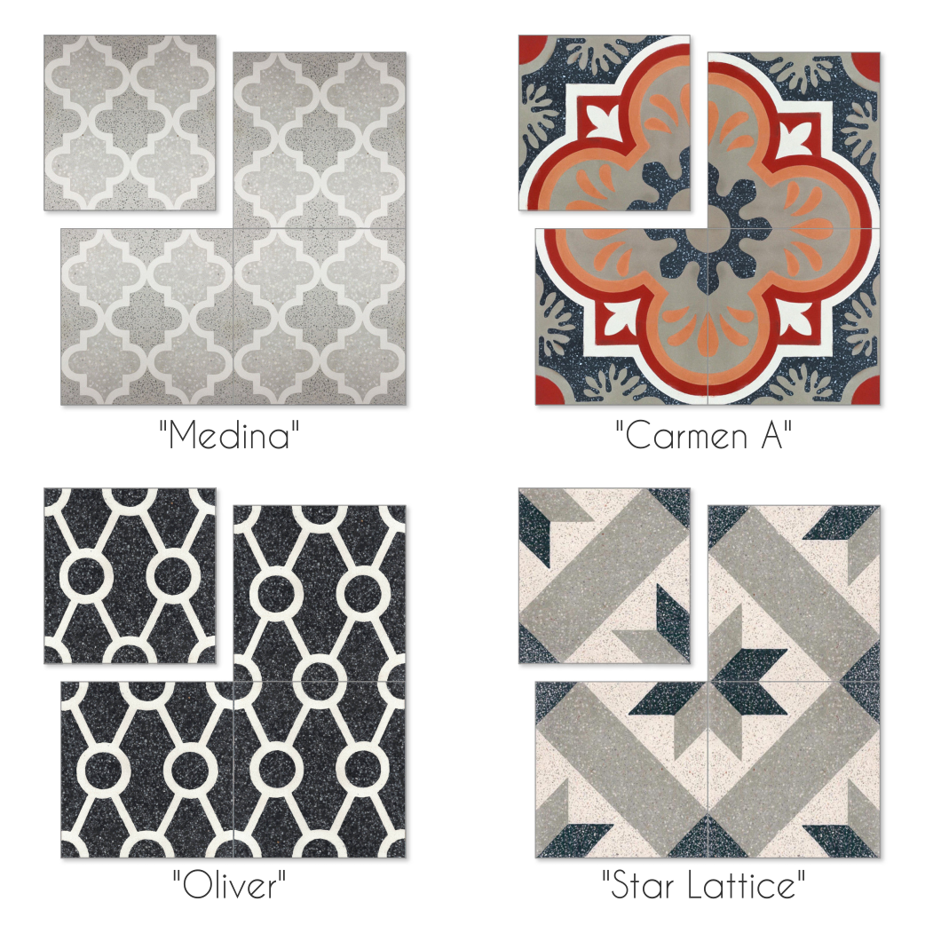 Quick Look: Terrazzo Cement Tile - Cement Style