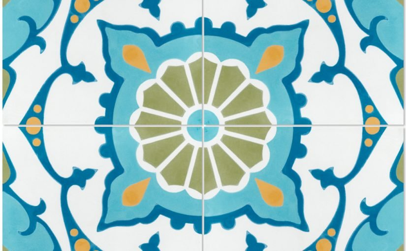 Amalena Meadow Cement Tiles Bring Classic Cuban Style Home
