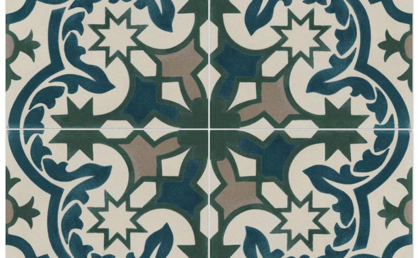 Havana Cantina Cement Tiles Evoke Cool, Eclectic Look and Feel of Cuban and Moroccan Design