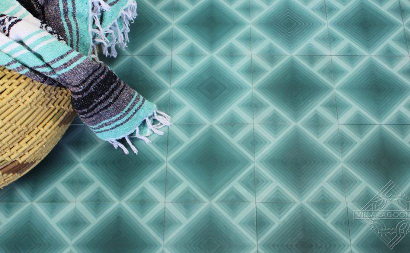 Ombré Cement Tile by Villa Lagoon Tile