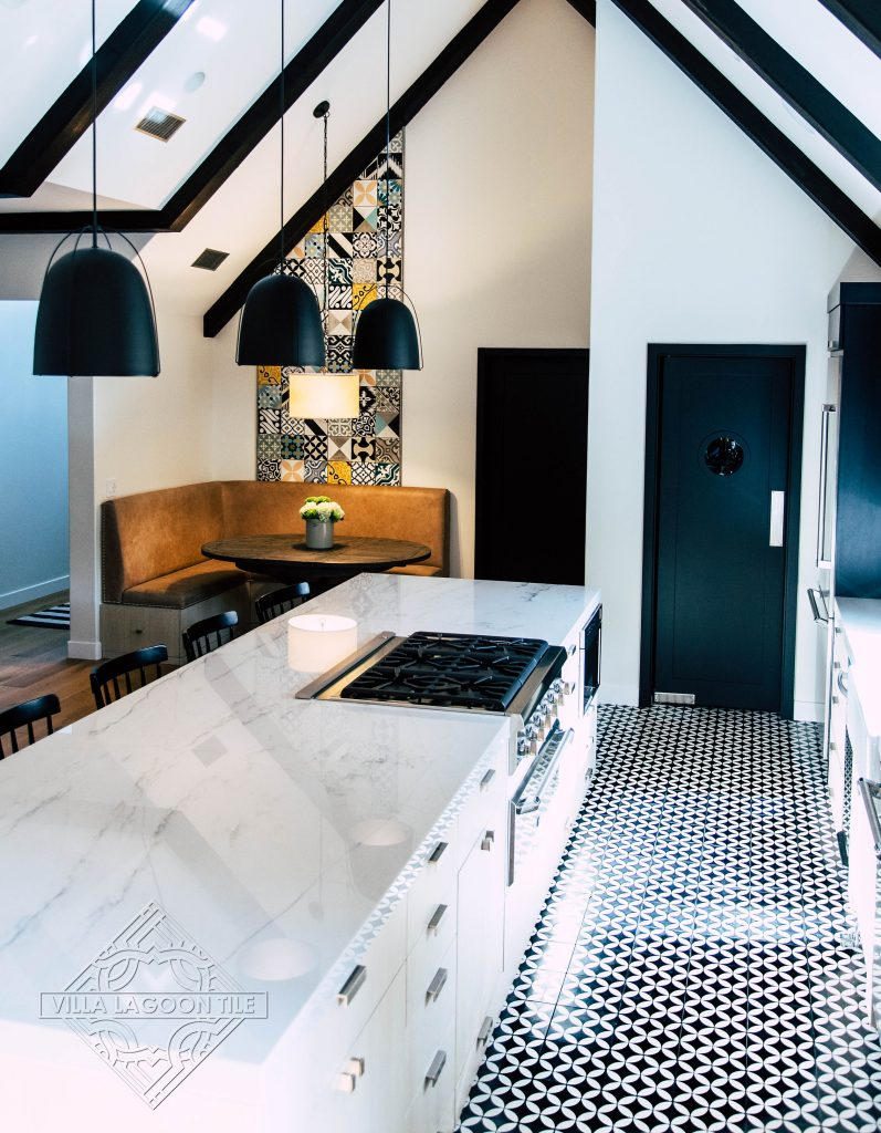 Always On Trend Black And White Cement Tile Cement Style