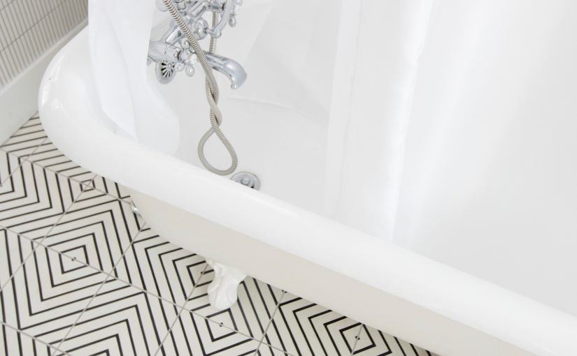 Always on Trend: Black and White Cement Tile