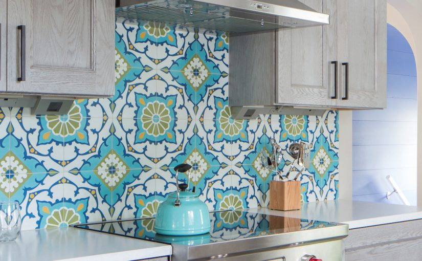 Amalena Meadow Cement Tiles Celebrate Global Design