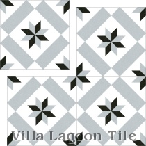 """Calvet Gris"" Replica Cement Tile"