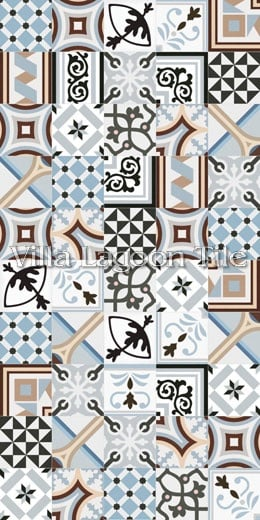 Palau Celeste Reproduction Cement Tile Ceramic Villa