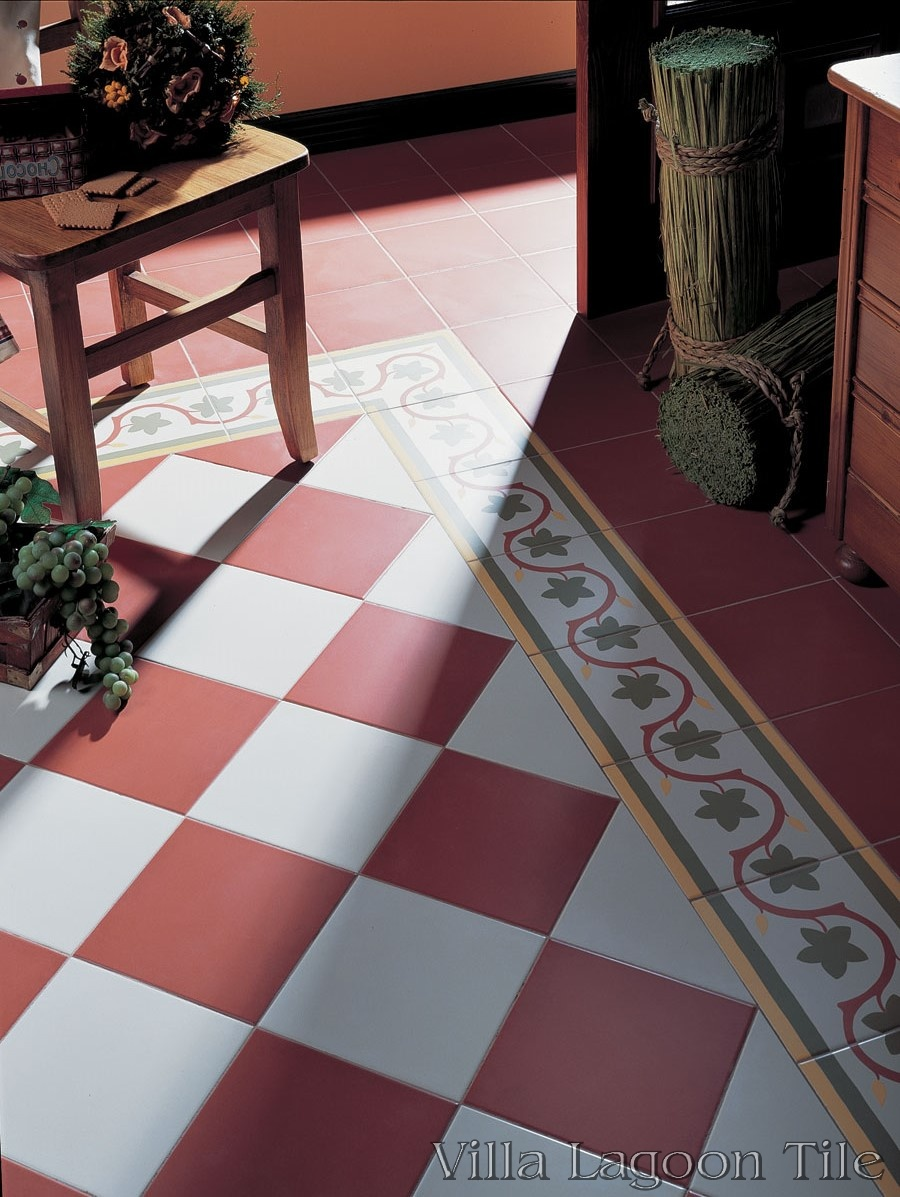 Gaud 237 Border Reproduction Cement Tile Ceramic Villa