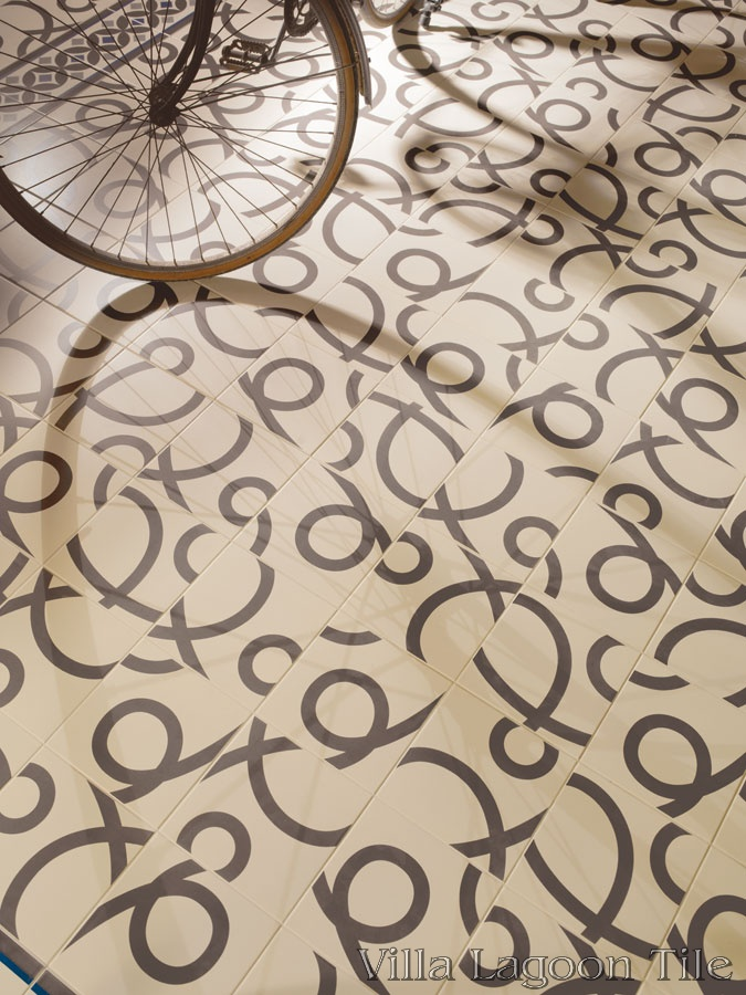 Pedrera Basalto floor tile from the Barcelona Collection.