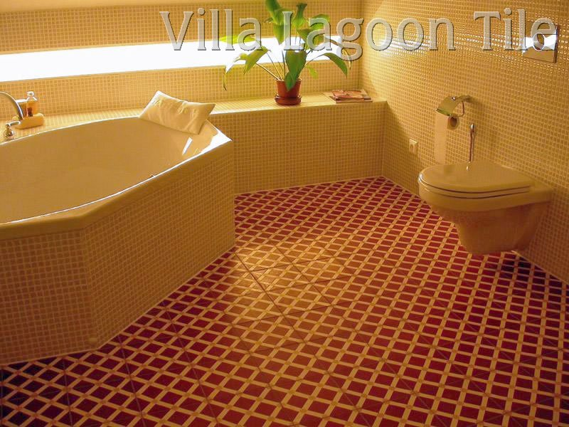 Bathroom Cement Tile Installations
