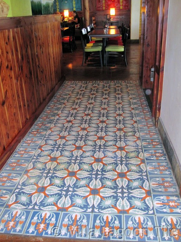 Commercial Cement Tile Installations Villa Lagoon Tile