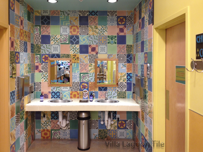 Whole Foods San Antonio Patchwork Tile