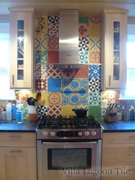 Kitchen Ceramic Tile Paint