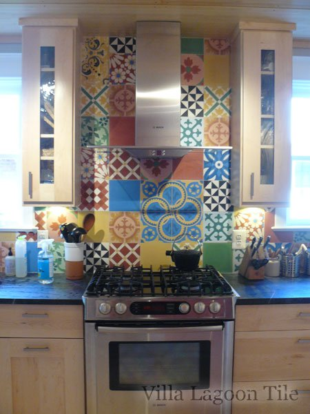 Kitchen Tile Splashback Images