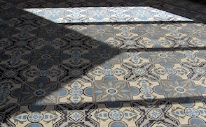 Commercial retail and hotel cement tile installations