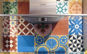Kitchen cement tile photo gallery