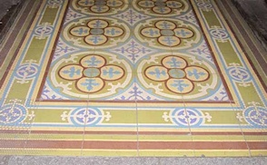 Mexican cement tile photo gallery image