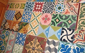 Patchwork tile photo gallery