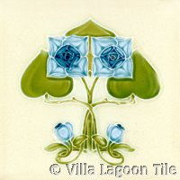 Reproduction victorian tile