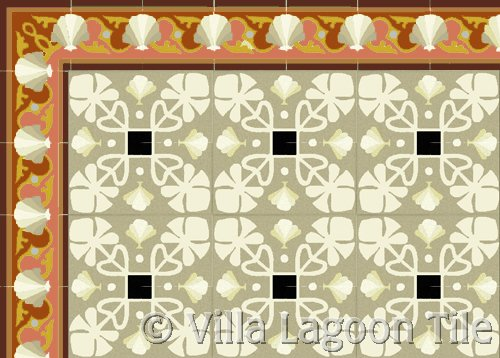 cuban tile floor cement mosaics