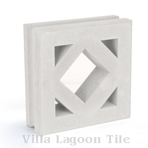 Antilles Breeze Blocks, from Villa Lagoon Tile.