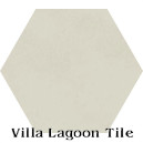 In Stock Solid Hex Putty Cement Tile