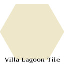 In Stock Solid Hex Whipped Cream Cement Tile