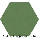 In Stock Solid Hex Monte Verde Cement Tile