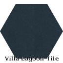 In Stock Solid Hex Deep Inlet Cement Tile