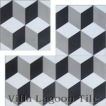 "In-Stock ""Cubes"" Tile"