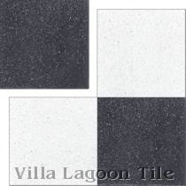 In Stock Solid Black Terrazzo Cement Tiles
