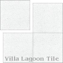 In Stock Solid White Terrazzo Cement Tiles
