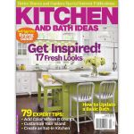 Cover of Better Homes and Gardens, Kitchen and Bath Ideas, April 2012.