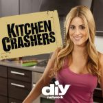 "DIY Network television show, ""Kitchen Crashers"", with host Alison Victoria."