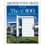 Cover of Architectural Digest, January 2014.